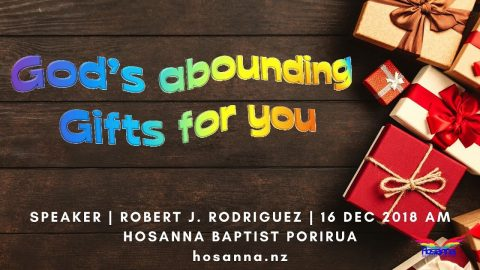 God's Abounding Gifts for You