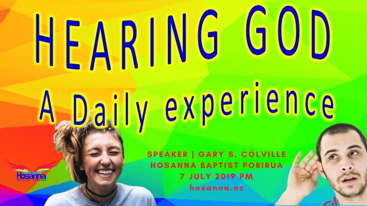 Hearing God: A Daily Experience