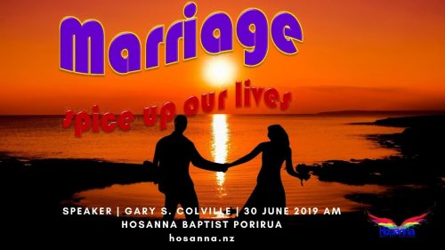 Marriage: Spice Up Our Lives