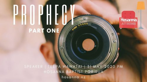 Prophecy | Part One