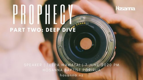 Prophecy | Part Two: Deep Dive