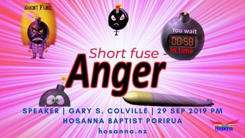 Short Fuse: Anger