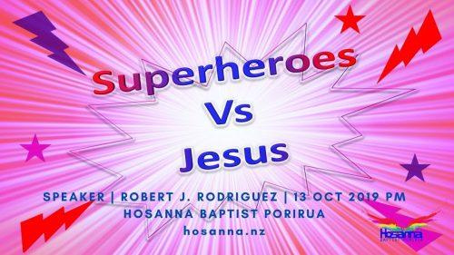 Superheroes vs. Jesus