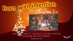 Born With Intention | Christmas Eve