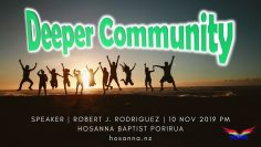 Deeper Community: Inspiring Others