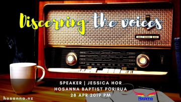 Discerning The Voices