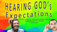 Hearing God's Expectations