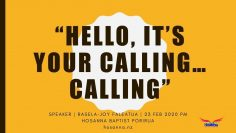 Hello, It's Your Calling… Calling