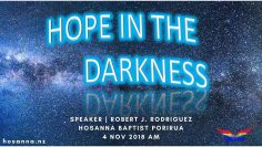 Hope in the Darkness