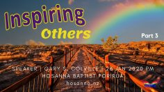 Inspiring Others, Part 3