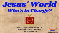 Jesus' World | Who's in Charge?
