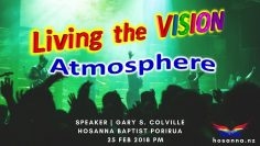 Living the Vision: Atmosphere