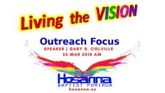 Living the Vision: Outreach Focus