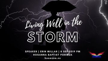 Living Well In The Storm