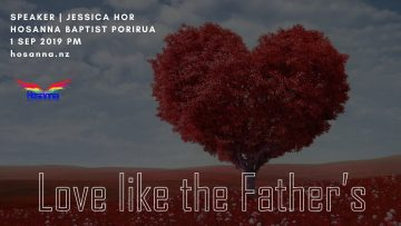 Love Like The Father