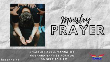 Ministry Prayer