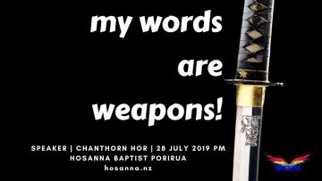 My Words Are Weapons