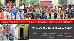 Our Greatest Mission Challenge