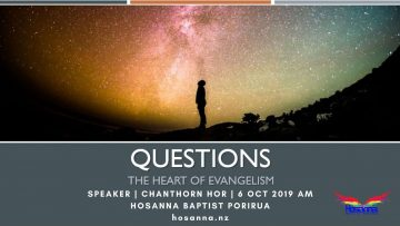 Questions: The Heart of Evangelism