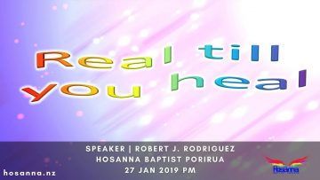 Real Till You Heal