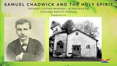 Samuel Chadwick & The Holy Spirit