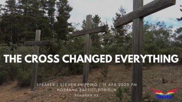 The Cross Changed Everything