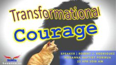 Transformational Courage