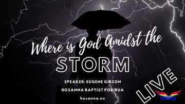 Where is God Amidst the Storm?