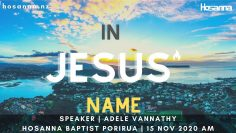 In Jesus' Name | Adele Vannathy