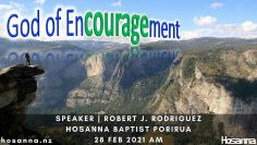 God Of EnCOURAGEment