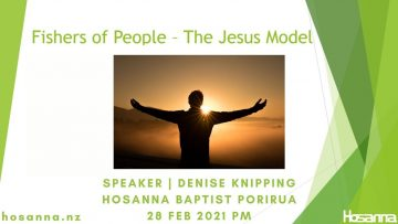 Fishers of People The Jesus Model