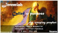 Jeremiah Called To A Purpose